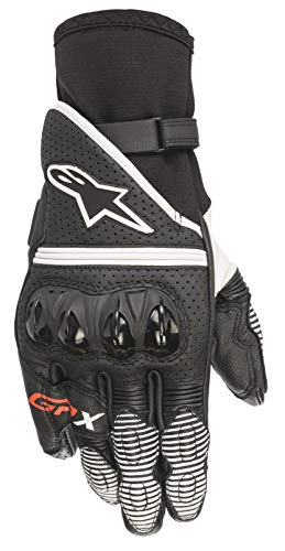 Alpinestars Gants moto Gp X V2 Gloves Black White, Noir/Blanc, L