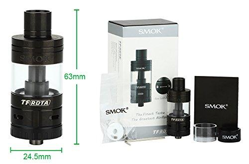 SMOK TF-RDTA schwarz - Selbstwickler / Verdampfer 5ml - Original SMOKTECH