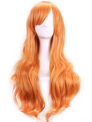 Generic Anime Long Cheveux Bouclés multicolore Parti Lolita Cosplay Perruques 70 cm