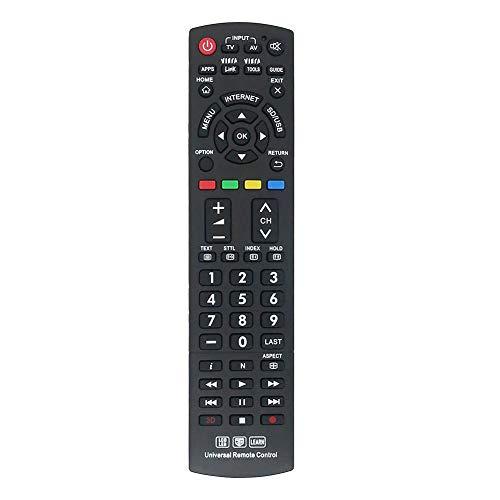 Universal Fernbedienung für Panasonic Smart TV N2QAYB000487 N2QAYB000752 Kompatibel mit Allen für Panasonic Fernbedienung