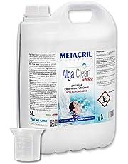 Metacril Antialgas Shock de doble acción + dosificador. Alga Clean Shock para hidromasaje, piscina y spa, rígidos o hinchables (Jacuzzi,Teuco, Dimhora,Intex,Bestway,etc).