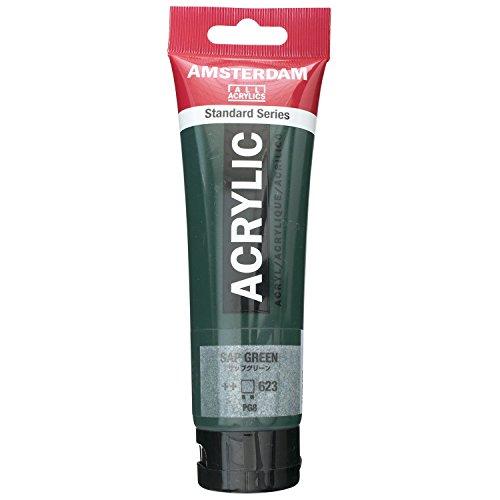 Acrylverf - Sap groen - Amsterdam - 120ml