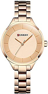 Curren Casual Watch For Women Analog Stainless Steel - 9015