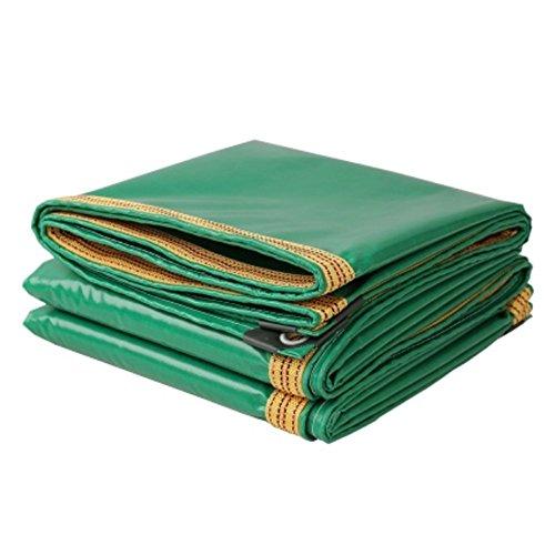 Tarpaulin Bâche Tente Bâches Oxford Pluie Cloth Couteau Camion sur Toile étanche en PVC de Crème Solaire extérieur Abat-Jour Chiffon (3*3 m/3*4 m/3*5 m/3*6 m) Il est si Largement utilisé, 3*6m