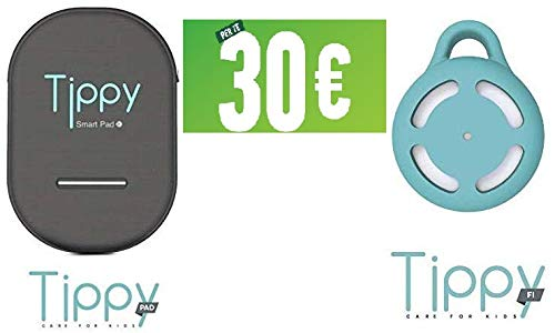 dispositivo anti abbandono tippy pad EFFETTO CASA Tippy Pad Dispositivo Anti abbandono seggiolino Auto + Tippy Fi Portachiavi - Bonus statale 30 Euro