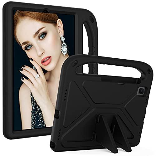 ZHIWEI Tablet PC Bag Caso per Bambini per Samsung Galaxy Tab A7 10.4 (2020) SM-T500   T505, Manico Leggero con Manico Impermeabile per Bambini Bambini Custodia Protettiva per Bambini (Color : Black)
