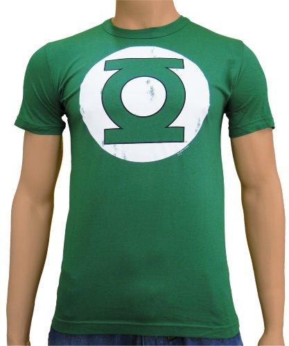 Green Lantern DC Comics Vintage Logo T-Shirt Bottle Green, XXL