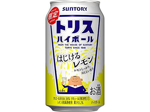 サントリー トリスハイボール (はじけるレモン) [ ウイスキー 日本 350ml×24本 ]