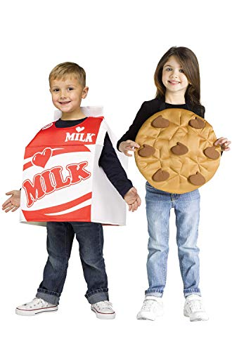Funworld Milk and Cookie Costume Set Toddler 3T-4T