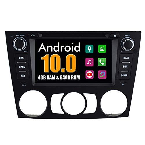 Roverone Système Android 6,2 Pouces double DIN EN Dash Autoradio GPS pour BMW E90 E91 E92 E93 318i 320I 325I 320SE 320d 325 m 320 stéréo avec système de navigation DVD SD USB écran tactile