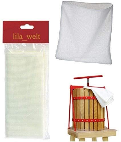 12 L Presstuch, Pressbeutel, Filterbeutel, Presssack für Obstpresse Filtersäcke, Wein Machen, filtern