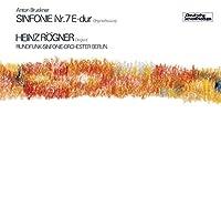 Bruckner: Sinfonie Nr. 7 E-Dur by Heinz Rogner (2014-10-08)
