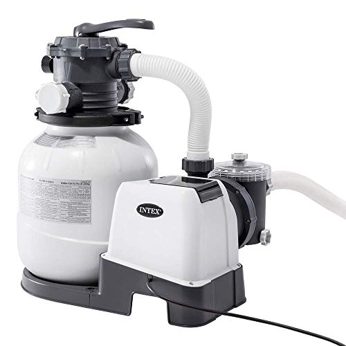 "Intex 26646 - Depuradora de arena 7.900 litros/hora 12"" 0.30 hp"