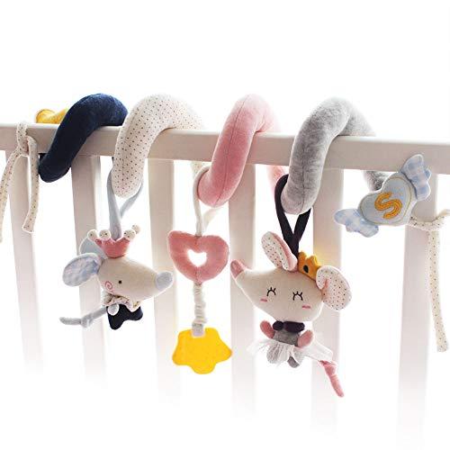 SHILOH Crib Sprial Rail Toy (Elfin Mouse)