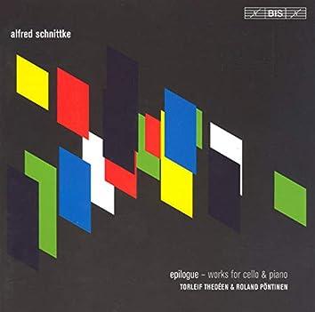 Schnittke: Epilogue / Cello Sonata Nos. 1 & 2 / Improvisation / Musica Nostalgica