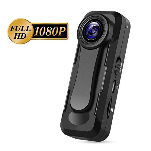 BOBLOV Mini Kamera, 1080P Full HD W1 Body Kamera Camcorder Für Polizei/Motorrad/Fahrrad/Sport