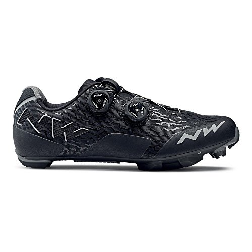 Zapatillas Mtb Northwave Rebel Negro-Antracita - Talla: 44