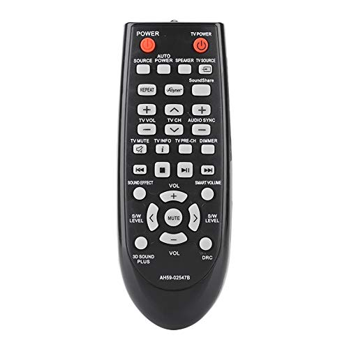 Soundbar Afstandsbediening, Vervangende Afstandsbediening Controller voor Samsung Soundbar AH59-02547B