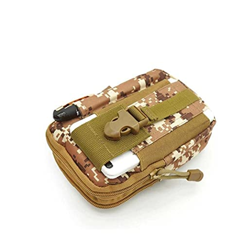 Soporte De Llaves De Mini Bolsa Al Aire Libre, Gadgets Portátiles Equipo De Viaje Paquete Paquete Cambio De Teléfono Bolsos Camuflaje