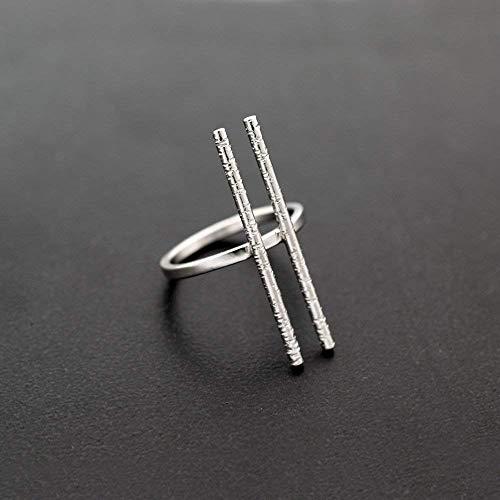 Geometrig Ring aus Sterlingsilber, minimalistischer Ring für Frauen, handgefertigter griechischer Schmuck für Frauen, einzigartiger Ring, Modedesignring, Qualitätsschmuck