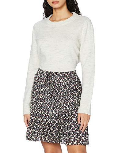 Scotch & Soda Womens Allovered Short Skirt with All-over printed short skirt with pleats Pleats, Combo F-0222, S