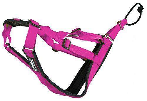 Neewa Verstellbare Schlitten Pro Geschirr (klein, pink), Hundegeschirr Große Rasse Hund Ziehgeschirr Riesiges Hundegeschirr Schlitten Geschirr zum Ziehen, ideal für Hunde Joring