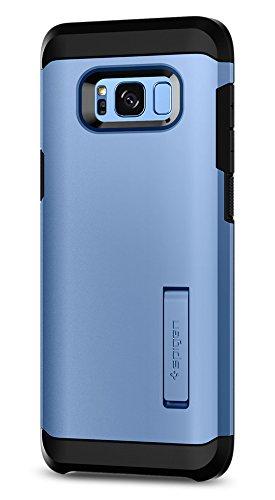 Spigen Tough Armor Designed for Samsung Galaxy S8 Plus Case (2017) - Coral Blue