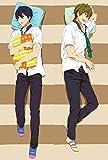 Anime Free Iwatobi Swim Club Haruka Nanase Makoto Tachibana Otaku Dakimakura Gifts Bedding Hugging Body Pillow