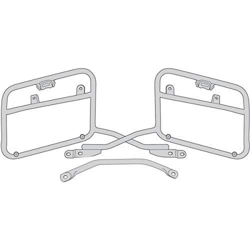 Givi Portaequipajes lateral para maleta V35 Honda NC 750 X, XD, S
