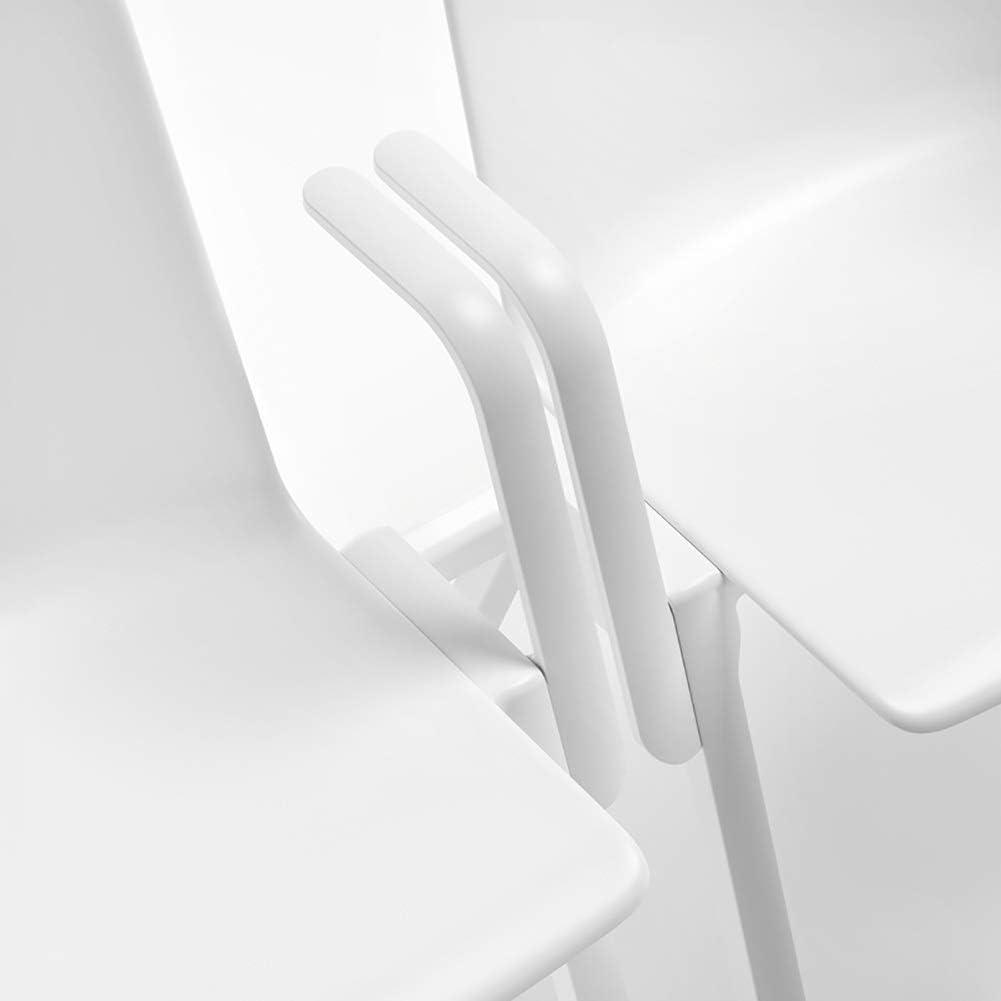 HLR Chaise Salle à Manger Bureau Moderne Chaises empilables Chaise for Les Bureaux, la Formation, Les conférences, Les églises, Les centres communautaires de Classe (Color : C) A