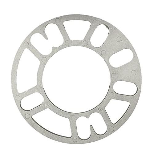 2 unids 3/5/8 / 10mm Aleación universal Espaciador de ruedas de aluminio Placa de cuñas para 4/5 stud wheel 4x100 4x114.3 5x100 5x108 5x114.3 5x120 Separadores Ruedas Completos (Color : 3mm)