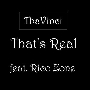 That's Real (feat. Rico Zone)
