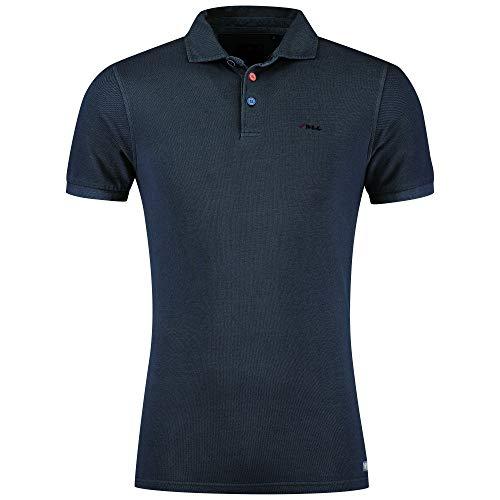 NZA New Zealand Poloshirt Blau M, Blau, Gr.- M
