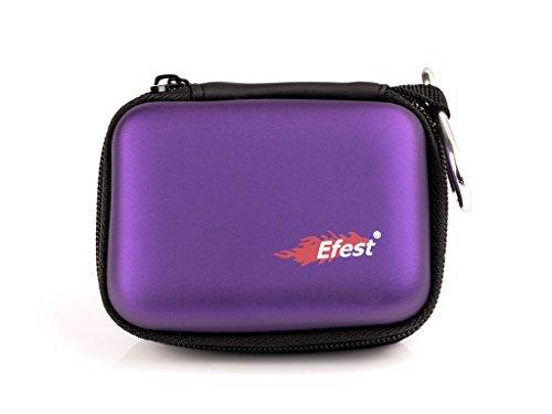 Akku-Aufbewahrungtasche in 4 Farben, Farbe:Lila
