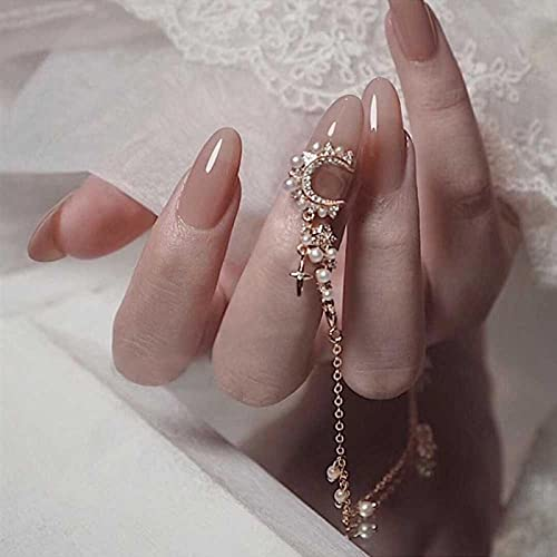 24 piezas de uñas postizas con pulsera de oro gris rosa diseñadaUñas postizasparche de manicura de gasa desmontable TY