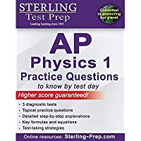 Sterling Test Prep AP Physics 1 Practice Questions: High Yield AP Physics 1 Questions with Detailed Explanations【洋書】 [並行輸入品]