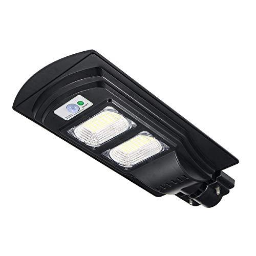 MOREWEY Minimalista 90W LED con energía Solar Wall Street Luz de Movimiento PIR jardín al Aire Libre de la lámpara LED Luces solares Crocs