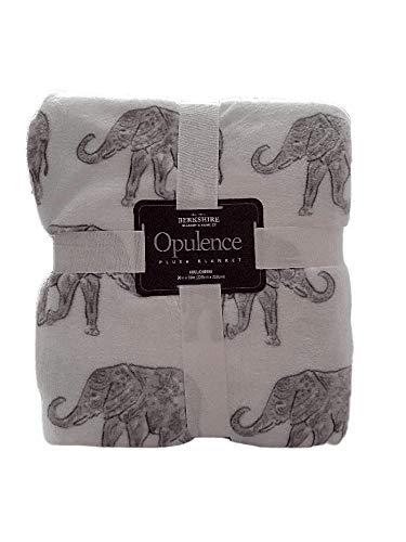 Berkshire Opulence Plush Blanket (Full/Queen)