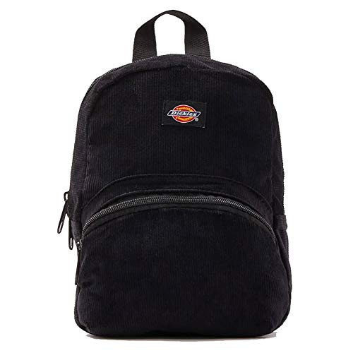 Dickies Corduroy Mini Backpack Black Solid