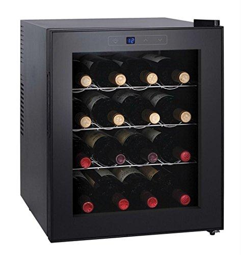 Igenix 16 Bottle Built-In Wine Cooler, Black