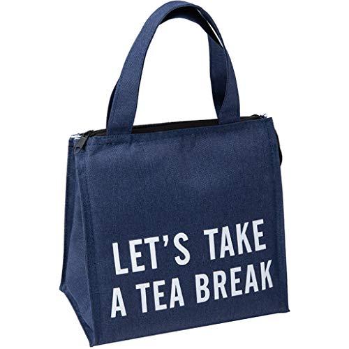Amuse-MIUMIU Kühltasche Klein Leicht Lunch Tasche für Herren, Damen und Kinder, Wasserdicht Kühltasche Lunch Tasche Isoliertasche Lunchbag Thermotasche für die Arbeit und die Schule (Blau)