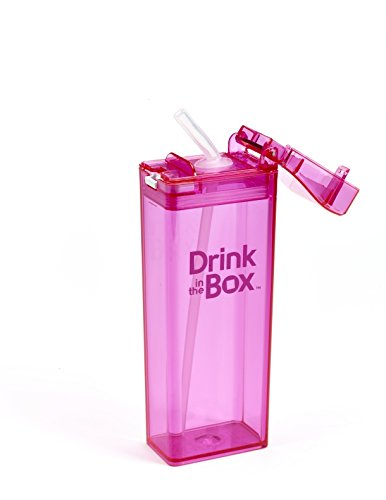Drink in the Box 1912PKPM drinkbox 350 ml, roze