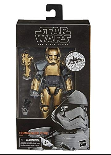 Star Wars – Edition Collector – Figurine Black Series Commander Pyre - 15 cm