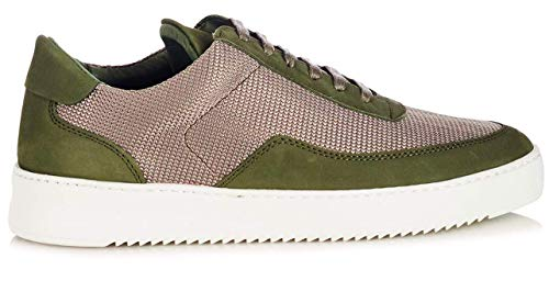 Filling-Pieces Low Mondo Ripple Nardo Mesh Army Green-45