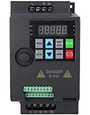 Frequentieomvormer SKI780 Mini VFD frequentieomvormer met variabele frequentie 0,75/1,5/2,2 kW, 380 V / 220 V, 9,6 A, lichte belasting, universele motorcontroller, universele converter (220VAC 1,5kW)