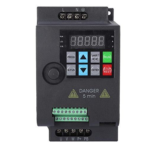 SKI780 Mini VFD 220V Wechselrichter Frequenzumrichter Wechselrichter 1 phase-Wechselstrom für Drehstrommotoren (220VAC 1.5kW)