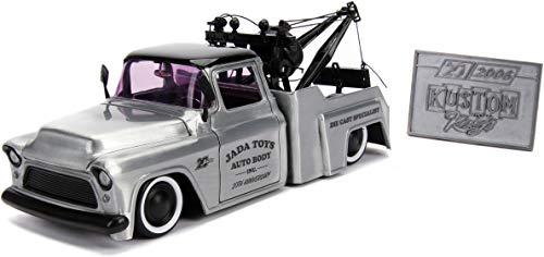 1:24 Jada 20 - K. Kings - '55 Chevy Stepside, Bare Metal, Model:JD31087