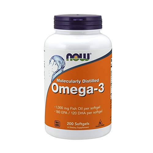 Nowfoods Omega 3 Fish Oil 200 Softgels