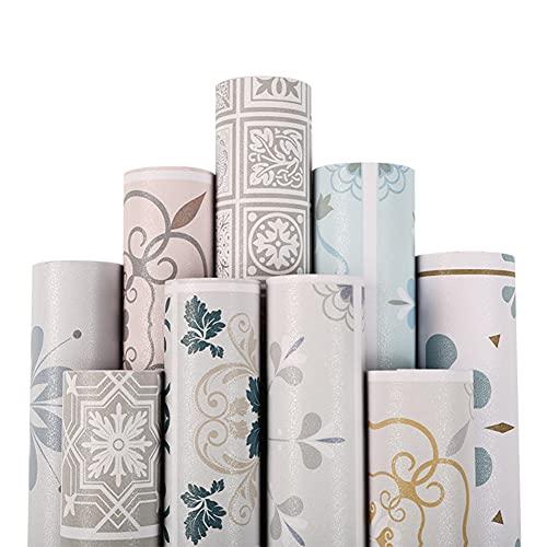 Swinno Adhesivo para azulejos, diseño moderno, resistente al agua, para suelo de baño y cocina, 60 x 100 cm