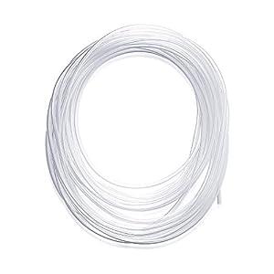Manguera de tubo de PVC transparente de 10 metros, tubo de plástico de PVC, tubería de agua potable de granja, tubería de aireación, 3 mm ID x 5 mm OD